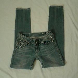 Miss me women skinny jeans 28